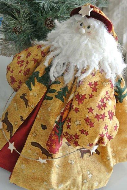 Babbo Natale in stoffa
