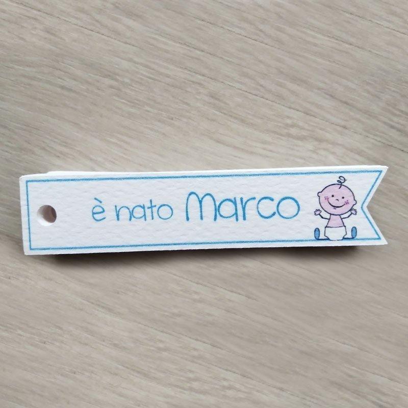 tag stretto personalizzato neonato