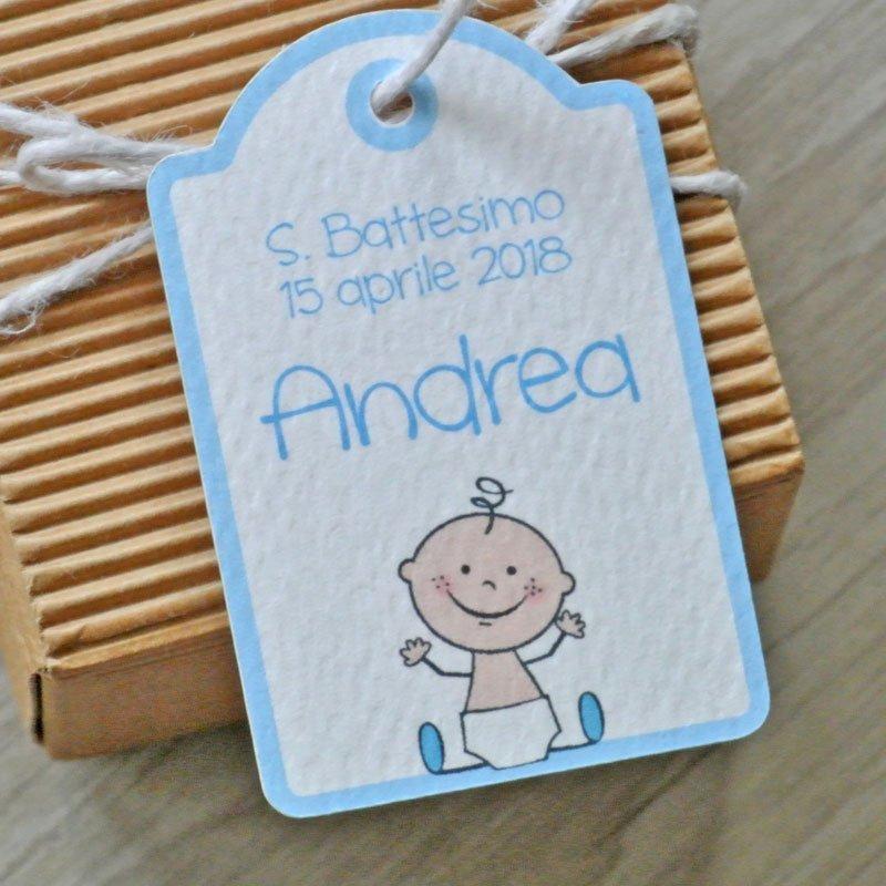 tag personalizzato nascita neonato